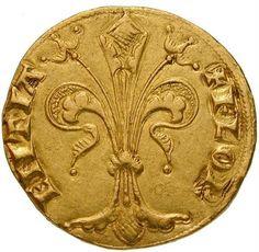 Holy Roman Empire, Kingdom of Hungary, Louis I of Anjou (1342-1382), goldgulden (obverse)