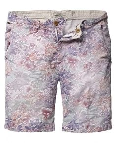 #Menswear #Shorts #Print - All-over printed chino short - Shorts - Scotch \u0026  Soda Online Shop