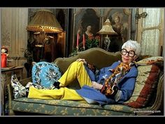 Iris Apfel interview: What inspires you now a days?