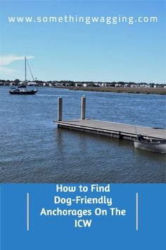 Traveling down the ditch with your pup? Check out our hot tips for finding the best places to take your dog off the boat along the ICW. #ICW #boatdog Dogs On Boats, Great Places To Travel, Edisto Island, Living On A Boat, Dog List, Kinds Of Dogs, Pet Travel, Dog Friends