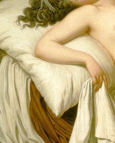 Danaë and the Shower of Gold (detail) | Adolf Ulrik Wertmuller