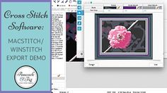 This video is about how to use the MacStitch (and WinStitch) cross stitch software's pattern export settings. This video is also published on the Peacock & F...