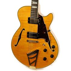 With a pure jazz sound that can only come from its laminated flamed maple construction, the EX-SS will satisfy all the needs of the seasoned guitar player. Being nothing short of perfection from top t