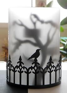 YANKEE-CANDLE-FOGGY-NIGHTS-SILHOUETTE-3-TEA-LIGHT-CANDLE-HOLDER-NWT-SOLD-OUT