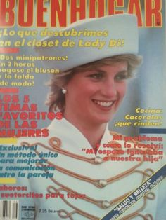 Buenhogar (Spanish) Jul 28, 1987 Princess Diana cover/article/celebrity/ads