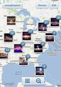 Instagram adds location mapping. http://cnet.co/NI0plJ