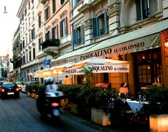 neighborhood cafes in rome