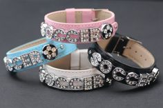 Soccer Ball Bracelets on Leather Band Bracelet with Rhinestone Alphabet Letters and Soccer Charm on Etsy, $9.99