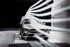 Mercedes-Benz A-Class Sedan Teased as the Most Aerodynamic Car in the World - News Mercedes Benz, My Dream Car, Dream Cars, Benz A Class, Best Luxury Cars, Cabriolet, Latest Cars, Rodin, Small Cars