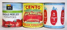 """What are DOP tomatoes? Good question. The short answer? DOP stands for the Italian phrase Denominazione d' Origine Protetta (roughly, """"protected designation of origin""""). Try 'Cento' brand for genuine D.O.M. I used the tomato brand pictured on the right (green band version  """"Whole Peeled Tomatoes"""", bought at Whole Foods, but here's Amazon link: (http://www.amazon.com/San-Marzano-Whole-Peeled-Tomatoes/dp/B003KXI4CA). They were delicious in the sauce but clearly states """"grown in U.S"""". This is…"""