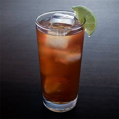 Dark and Stormy: Make a big batch of this famous two-ingredient cocktail to celebrate Rum Punch Day in style.