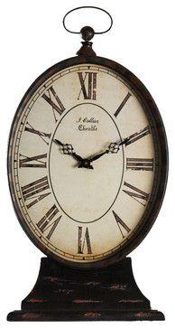 Shabby Chic clock like the Parisian one at Yangan