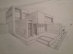A R T Architektur: Haus von The Effects of Damaging Black Mold What is black mold? Architecture Drawing Sketchbooks, Architecture Concept Drawings, Architecture Design, House Design Drawing, Perspective Art, Perspective Drawing Lessons, Perspective Building Drawing, Building Sketch, House Sketch
