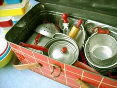 Vintage Tin Kitchen Toy* | Flickr - Photo Sharing!