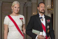Royals & Fashion: Dîner de gala en l'honneur des parlementaires, Oslo