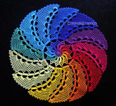 Find the desired and make your own gallery using pin. Drawn fractal crochet - pin to your gallery. Explore what was found for the drawn fractal crochet Thread Crochet, Filet Crochet, Crochet Motif, Irish Crochet, Crochet Designs, Crochet Doilies, Crochet Yarn, Crochet Stitches, Crochet Home