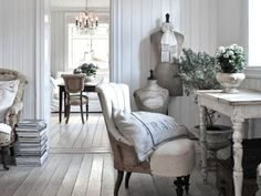 Shabby Chic home decor knowledge ref 5368741628 for for one totally smashing, brilliant room. Kindly visit the diy shabby chic decor ideas website now for more ideas. Swedish Decor, French Decor, French Country Decorating, Swedish Cottage, French Industrial Decor, Swedish Interior Design, French Cottage Decor, Interior Blogs, Country House Interior