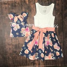 Mommy and Me Dress Mommy and Me Outfits Mother Daughter Mommy And Me Dresses, Mommy And Me Outfits, Girls Summer Outfits, Mom Dress, Summer Girls, Kids Outfits, Summer Dresses, Dress Set, Dress Hire