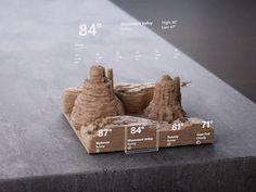 Fluent Design: from to back again (Monument Valley) by Oscar Murillo Web Design, App Ui Design, 3d Data Visualization, Fluent Design, Bar Graphs, Ui Design Inspiration, Design System, User Interface Design, Interactive Design