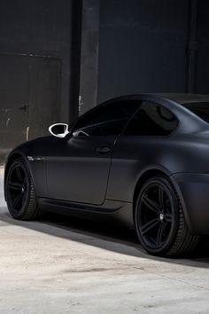 matte black