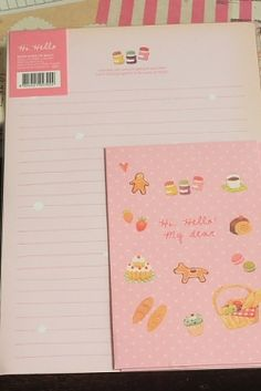 Photo1: Kawaii Letter Set - hello my dear