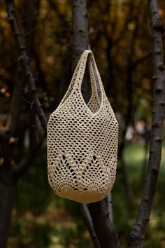 Pretty crochet bag!