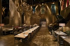 Buddakan Restaurant, NYC. Absolutely in love with the interior!!