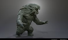 ArtStation - Another monster, Daniel Bystedt