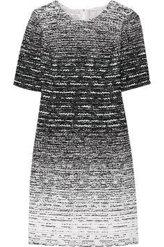 Oscar de la Renta|Dégradé tweed dress|NET-A-PORTER.COM