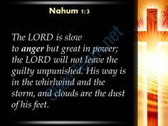 0514 nahum 13 the lord is slow to anger powerpoint church sermon Slide03  http://www.slideteam.net/
