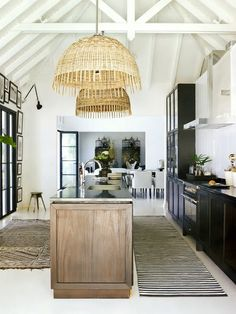 great kitchen space in St Barth
