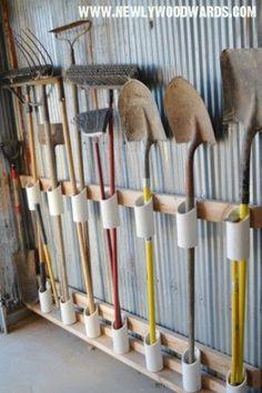 Удобные поделки из ПВХ труб для дачи — 27 фото идей   Мои Идеи Для Дачи и Сада
