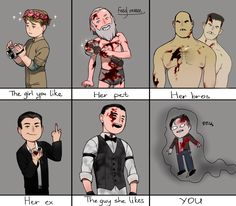 Waylon you adorable little messed up fucker— Outlast Game, Outlast Horror Game, Outlast 2, Waylon Park, Scary Movie Characters, Fear Of The Dark, Horror Video Games, Bros, Best Horrors