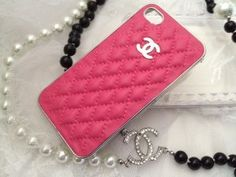 Chanel Pink iPhone Case! My Fav :)