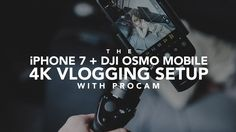 Vlogging with the DJI Osmo Mobile + ProCam App