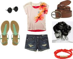 Summery!, created by emmib on Polyvore
