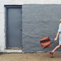Madewell tote. One of my favorite everyday bags.