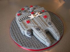 Eliab's Lego Birthday Cake
