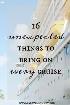 16 Unexpected Items to Bring on Every Cruise | Carnival Cruise Honeymoon Perks | Romantic Weekend Cruise. Travelling can in reality be a very romantic way of spending quality time together. Apart from the moon over the sea, or the sunrise there are completely great option factors for selecting a cruise. If you consider it, you can visit a number of various locations, and remain in the same...
