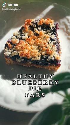 Healthy Deserts, Healthy Sweets, Healthy Dessert Recipes, Sweets Recipes, Healthy Baking, Vegan Desserts, Healthy Food, Snack Recipes, Fun Baking Recipes