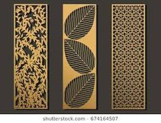 Find Laser Cut Template Panels Set Die stock images in HD and millions of other royalty-free stock photos, illustrations and vectors in the Shutterstock collection. Thousands of new, high-quality pictures added every day. Tor Design, Gate Design, Laser Cut Panels, Laser Cut Wood, Cnc Cutting Design, Laser Cutting, Metal Wall Art, Wood Art, Cricut Creations
