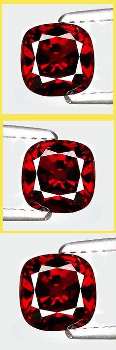 Spinel 110873: 1.40Ct Hi-End Sparkling Genuine Gem - Ultra Rare Natural Noble Red Spinel Spi209 -> BUY IT NOW ONLY: $679.88 on eBay!