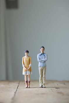 """For the first time ever, the Japanese company called """"3D Omote"""" has moved beyond 2D souvenir photos, creating """"miniatures portraits"""" by 3D printing. It's a new and much more realistic way to show how we are to future generations."""