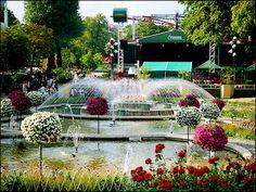 Beautiful Tivoli Garden, Copenhagen, Denmark
