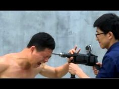 Shaolin Kung Fu master uses electric drill on his skull. Мастер КУНГ-ФУ ...