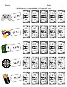 Budget Worksheets - Do you have Enough Money? for Special ...