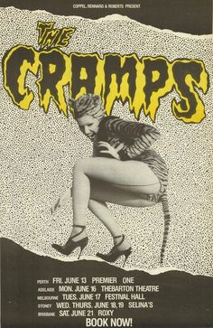 poisonivythecramps: 1986 Australian Tour