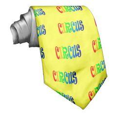circus custom ties