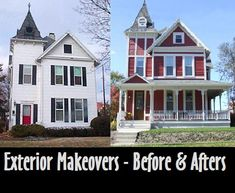 These House Exterior Before And After Makeovers Via @BHG Are Simply  Unbelievable.