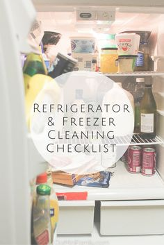 A weekly/bi-weekly clean-up routine that will leave you feeling confident about how clean your fridge is! #RealLifeClean [AD] @Target